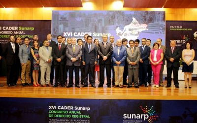 Cader Sunarp 2018